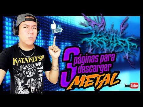 3 Páginas Para Descargar Metal / #MetalRelease
