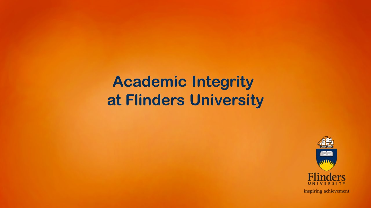 academic integrity flinders university