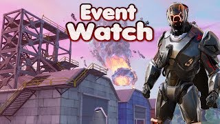 FORTNITE EVENT WATCH - ROCKET BEING BUILT AT DUSTY - PROP HUNT HIDE AND SEEK WITH SUBS