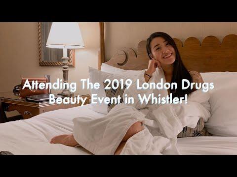 Vlog 67 • 2019 London Drugs Beauty Whistler Event! + Huge PR Haul