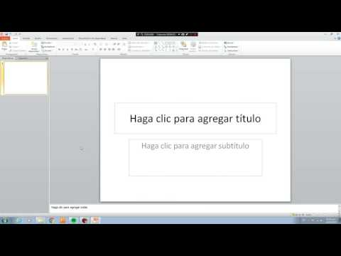 Tutorial karaoke PowerPoint 2010