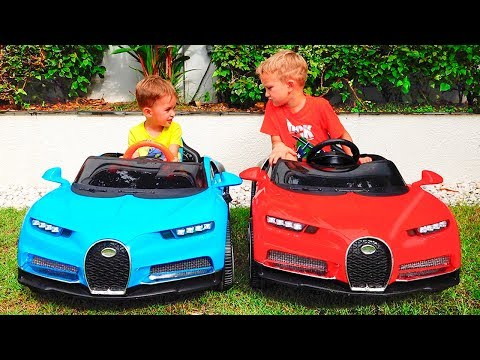 Little Nikita ride on cars and Magic transform colored cars