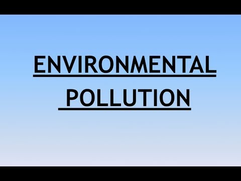 Environment and Ecology Lecture 6 - Environmental (Air ) pol