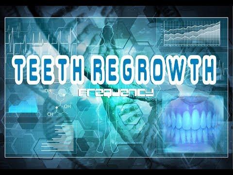 Teeth Regrowth Frequency - Grow Back Missing Teeth Future-Channeled Binaural Beat