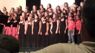 Dulles Middle School choir 09-10 Didn