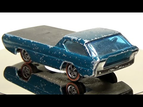 It's a joy to watch this guy's Hot Wheels restoration YouTube channel