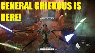 Star Wars Battlefront 2 - GENERAL GRIEVOUS IS HERE!   Is he buggy or is it just me?