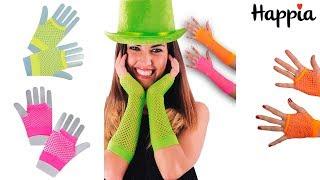 Светящиеся в ультрафиолете перчатки / Обзор