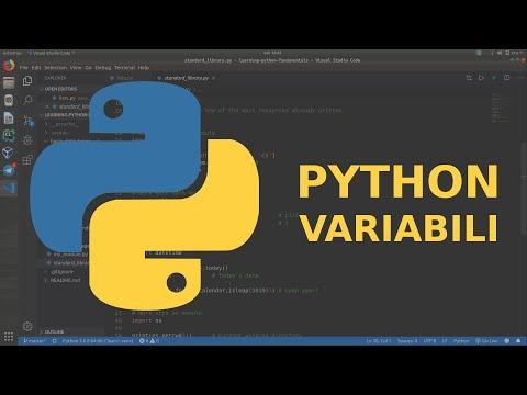 Python Tutorial Ita: Variabili e commenti thumbnail