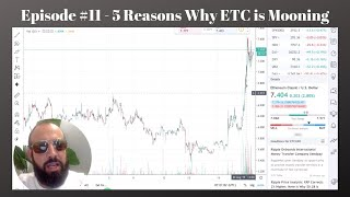 #11 - Dean discusses 5 reasons why the Ethereum Classic price is mooning and where it will go next