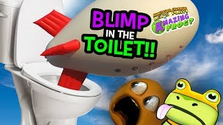 Amazing Frog - PUTTING THE BLIMP IN THE TOILET!!!?