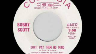 NORTHERN SOUL BOBBY SCOTT DON