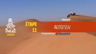 Dakar 2020 - Étape 11 (Shubaytah / Haradh) - Résumé Auto/SSV