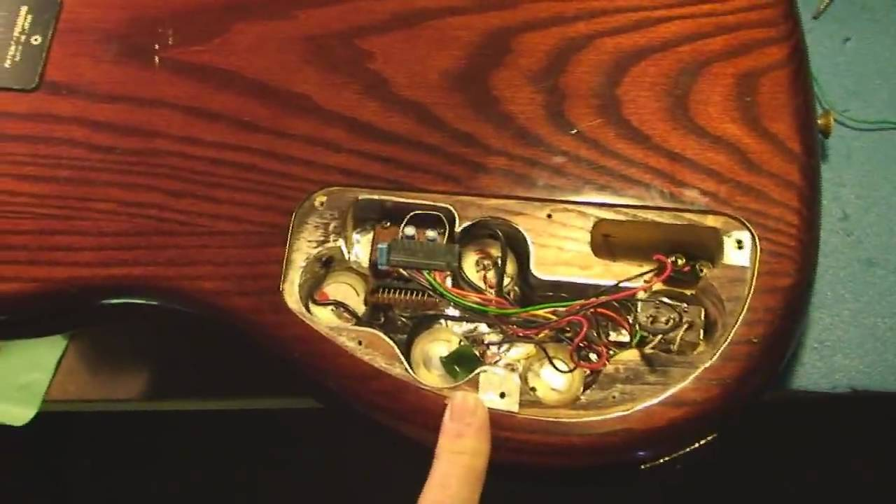 Ibanez Roadster Bass Guitar Repair