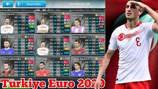 DLS19 Türkiye A Milli Takım Euro 2020 Kadrosu Normal&Yüzlük