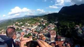 Ncopp ò castell Pietrastornina (upthecastle)