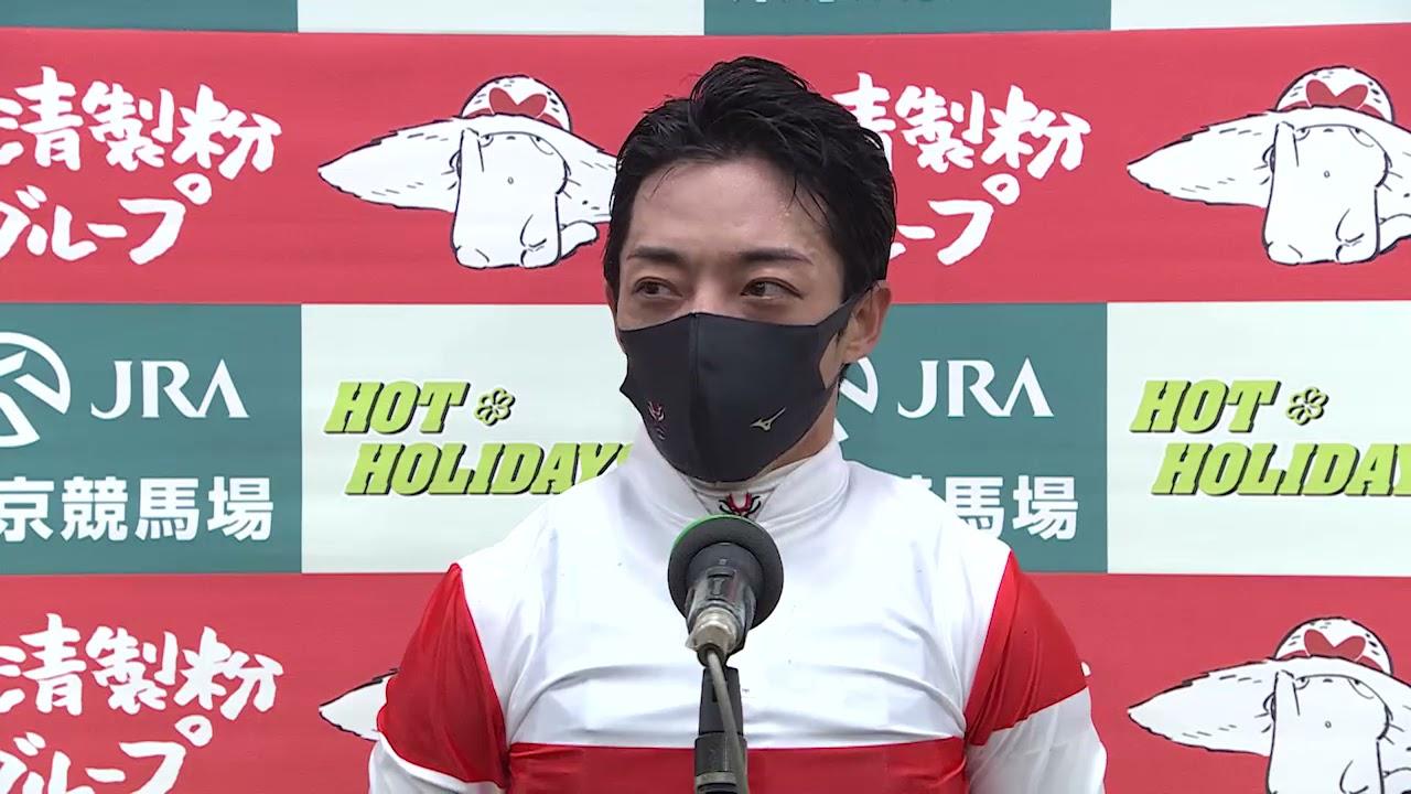 【マイル頂上決戦 安田記念・GⅠ】勝利騎手インタビュー 川田将雅騎手