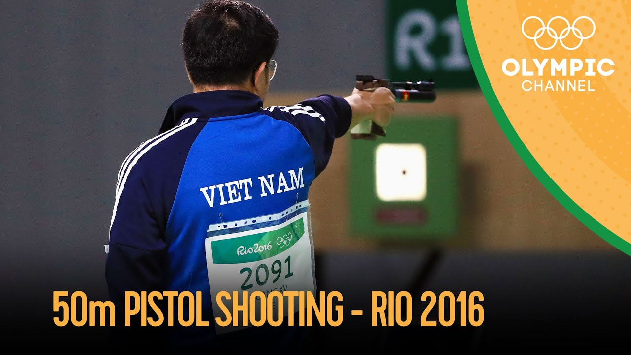 Shooting: Men's 50m Pistol Qual and Final | Rio 2016 Replays