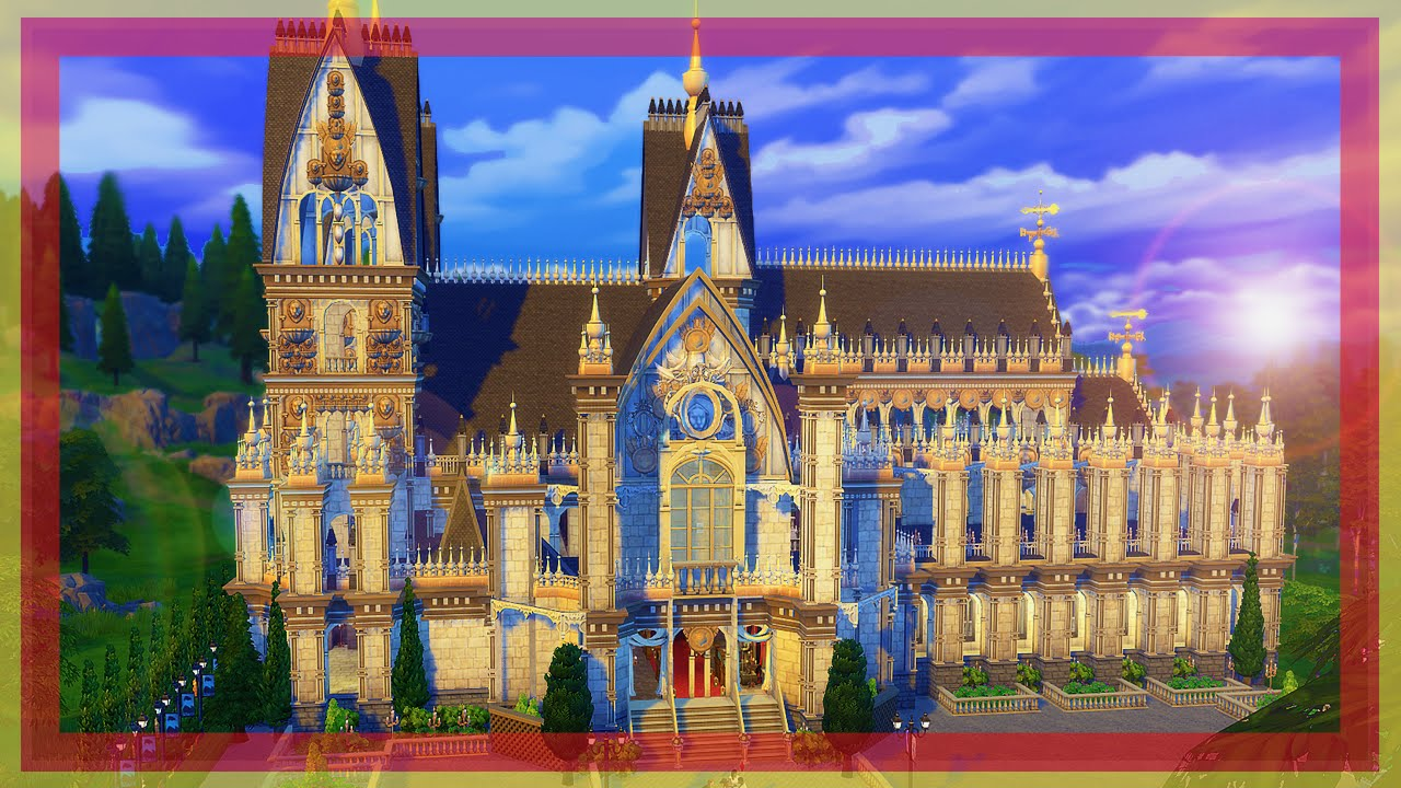 Building The KLNER DOM CATHEDRAL l Sims 4  YouTube