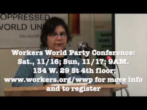 Come to the Workers World Party Conference video 2013