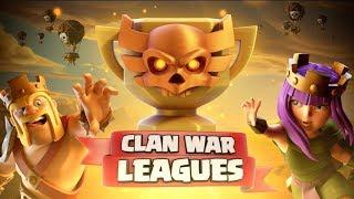 Clash Of Clans lietuviškai #5 | Clan War Leagues!