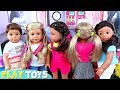AG Dolls Hair Salon Toys! How to Braid & Style Doll Hair!
