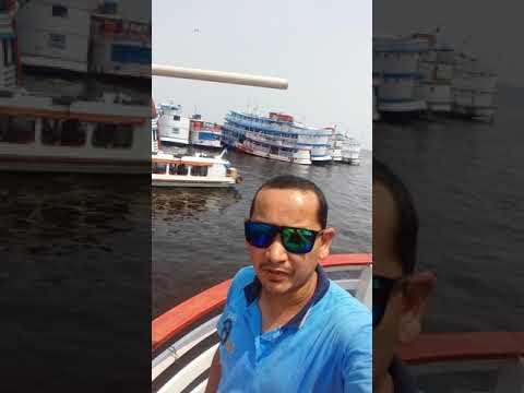 Saindo do Porto de Manaus para o município de Urucará !