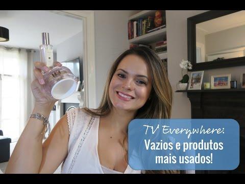 TV #BEAUTY Everywhere: Produtos vazios e os mais usados!