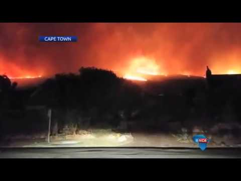 Chapman's Peak guesthouse engulfed by wild fire