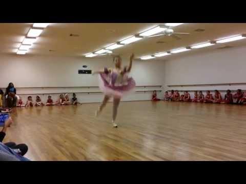 Elisah's 2014 Sugar Plum Fairy Ballet Costume Rehearsal