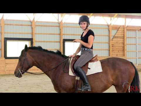 """Improve Your Stability in the Saddle by Riding """"On Your Thigh"""""""