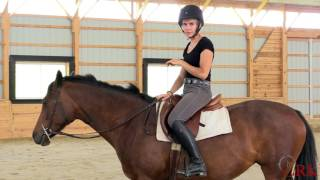 Improve Your Stability in the Saddle by Riding 'On Your Thigh'