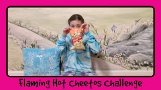 Flaming Hot Cheetos Challenge | In Mad's World