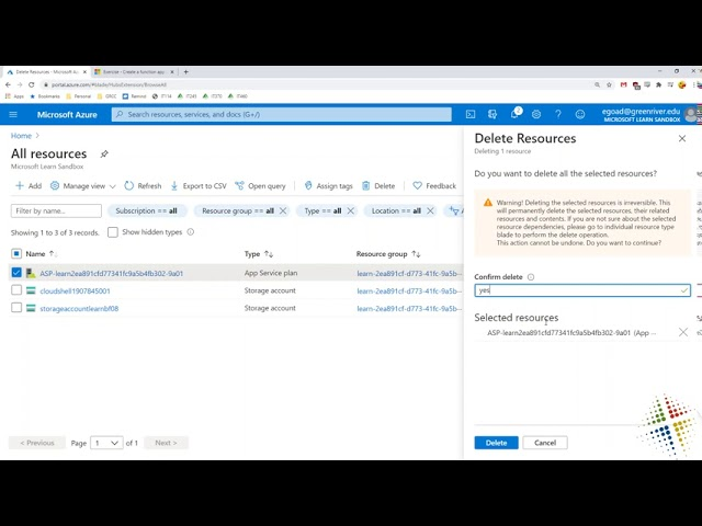Create serverless logic with Azure Functions