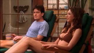Download Video Two and a Half Men - Staring at Judith's Boobs [HD] MP3 3GP MP4
