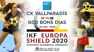 IKF ES 2020 CK Vallparadis / Assessoria - Grupo Desportivo dos Bons Dias