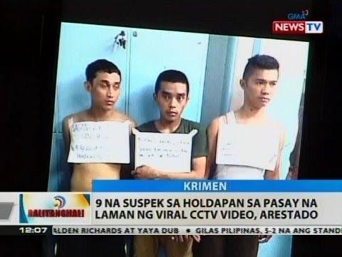 BT: 9 na suspek sa holdapan sa Pasay na laman ng viral CCTV video, arestado