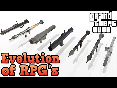 Evolution Of The RPG! - Grand Theft Auto Series