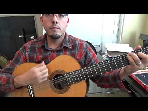 How to Play Mariachi Guitar - Exercise 1