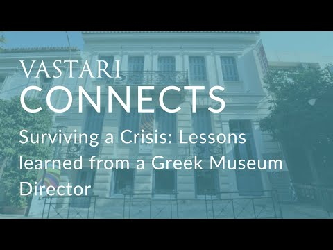 Surviving a Crisis: Lessons learned from a Greek Museum Director with Nicholas Kondoprias