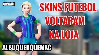 ⚽️ FOOTBALL SKINS IN THE STORE: FOOTBALL SKINS ARE BACK! NEW SHOP FORTNITE TODAY 31/05/19. NEW SKIN