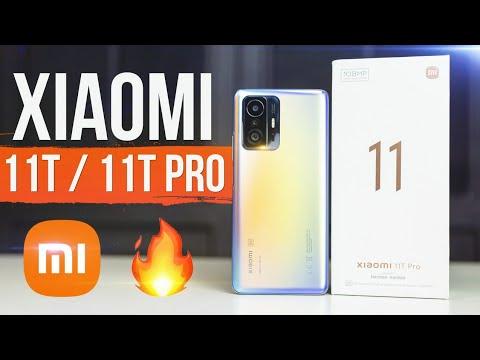 Xiaomi 11T и 11T Pro 🔥 Распаковка и Первый Обзор смартфонов