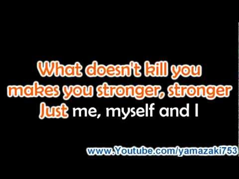 Kelly Clarkson  Stronger What Doesnt Kill You  Karaoke