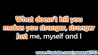 Kelly Clarkson - Stronger (What Doesn't Kill You) - Karaoke