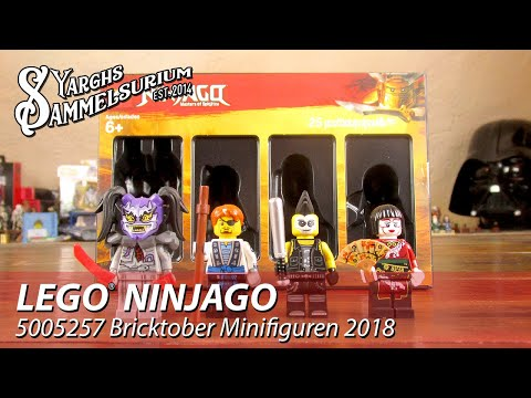 Review LEGO Ninjago 5005257 - Bricktober Minifiguren 2018 Toys R Us - Unboxing Und Review Deutsch