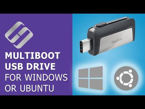 How To Create 💻 A Multiboot USB Drive 💽 For Windows 7, 8, 10 Or Ubuntu