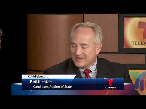 Telemundo Columbus TV Ch 17.1 & 23.3   Decisión 2018   Keith Faber
