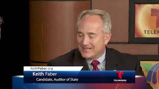 Telemundo Columbus TV Ch 17.1 & 23.3 | Decisión 2018 | Keith Faber