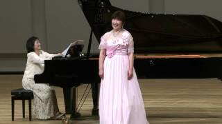 ソプラノ独唱 賛助出演 五十嵐 尚子 ピアノ:佐藤 世子