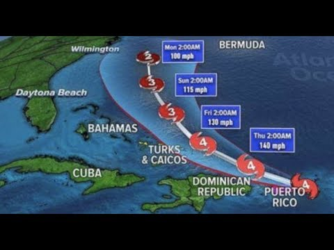 """BREAKING: """"Monster Maria"""" Hurricane Hits Puerto Rico"""" The Path Of Destruction Next?"""